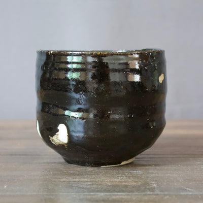 HIKIDASHI-GURO Tea Ceremony Bowl #240