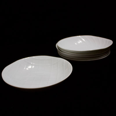 Shell Line Dessert Plate set of 6