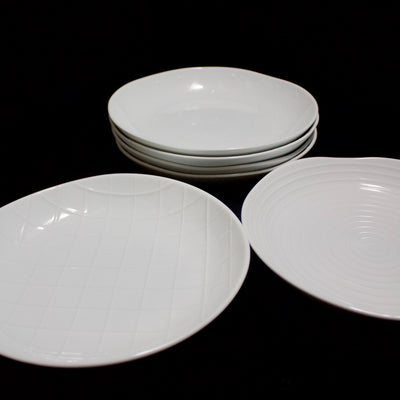 Shell Line Salad Plate set of 6