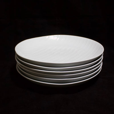Shell Line Dinner Plate set of 6