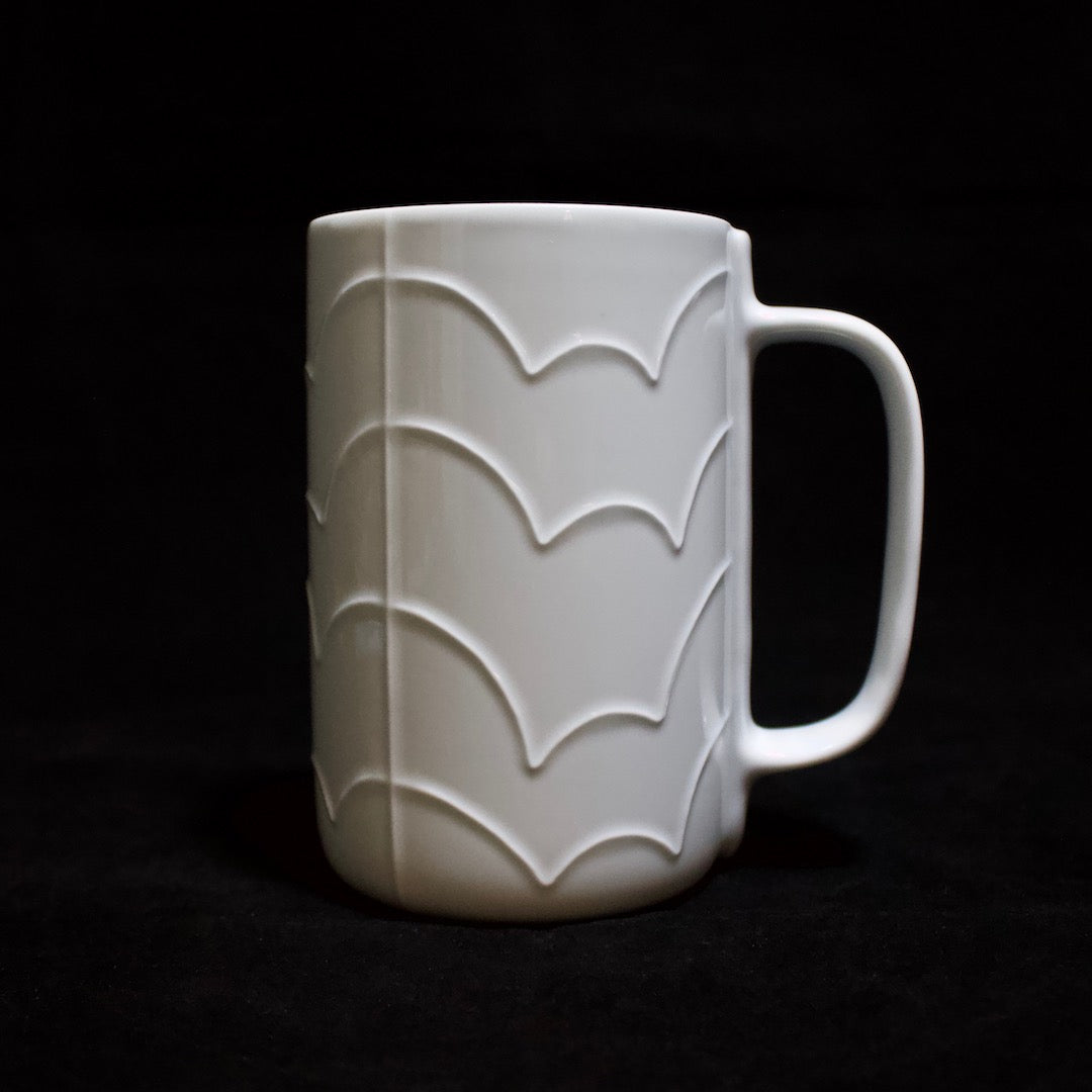 Shell Line Tall Mug Cloud Pattern