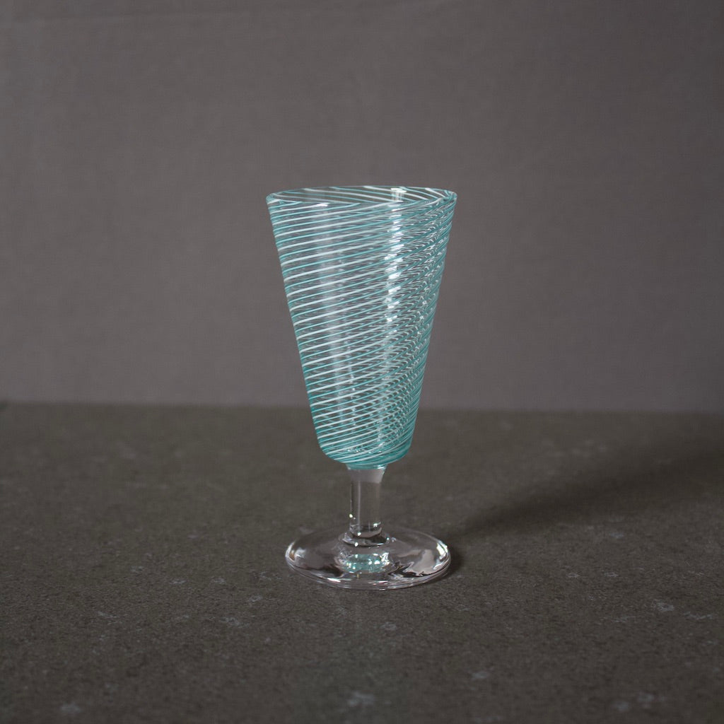 Sherry Glass Turquoise #UK55E