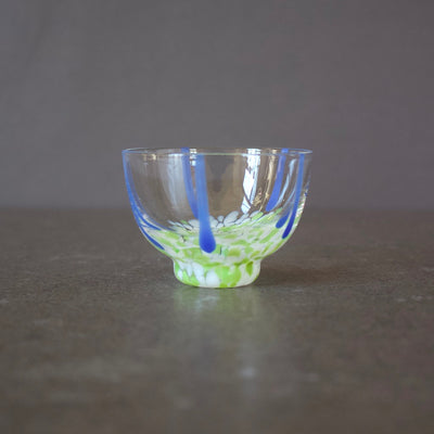 Glass Sake Cup #MZ129