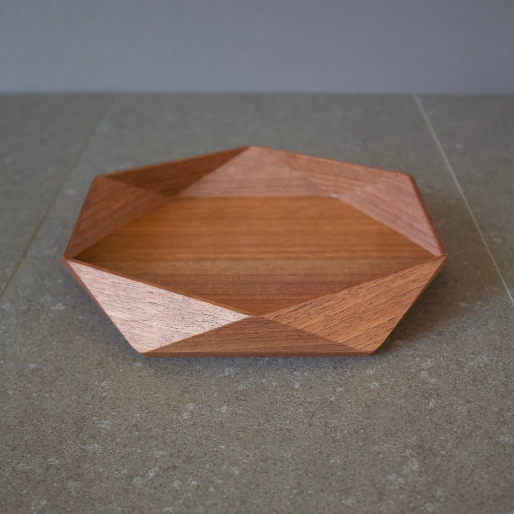 Architectural Design Walnut Tray #TS768