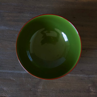 Lacquer Bowl Green