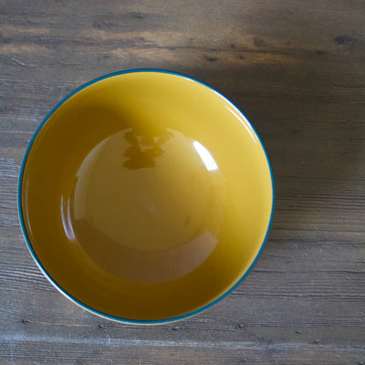 Lacquer Bowl Yellow