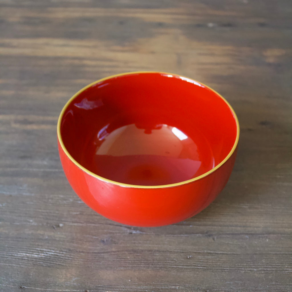 Lacquer Bowl Red