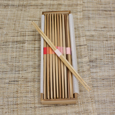YOSHINO Cedar Disposable Chopsticks set in Cedar Box by YOSHITATSU