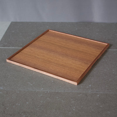 SQ Walnut Tray #TS1034