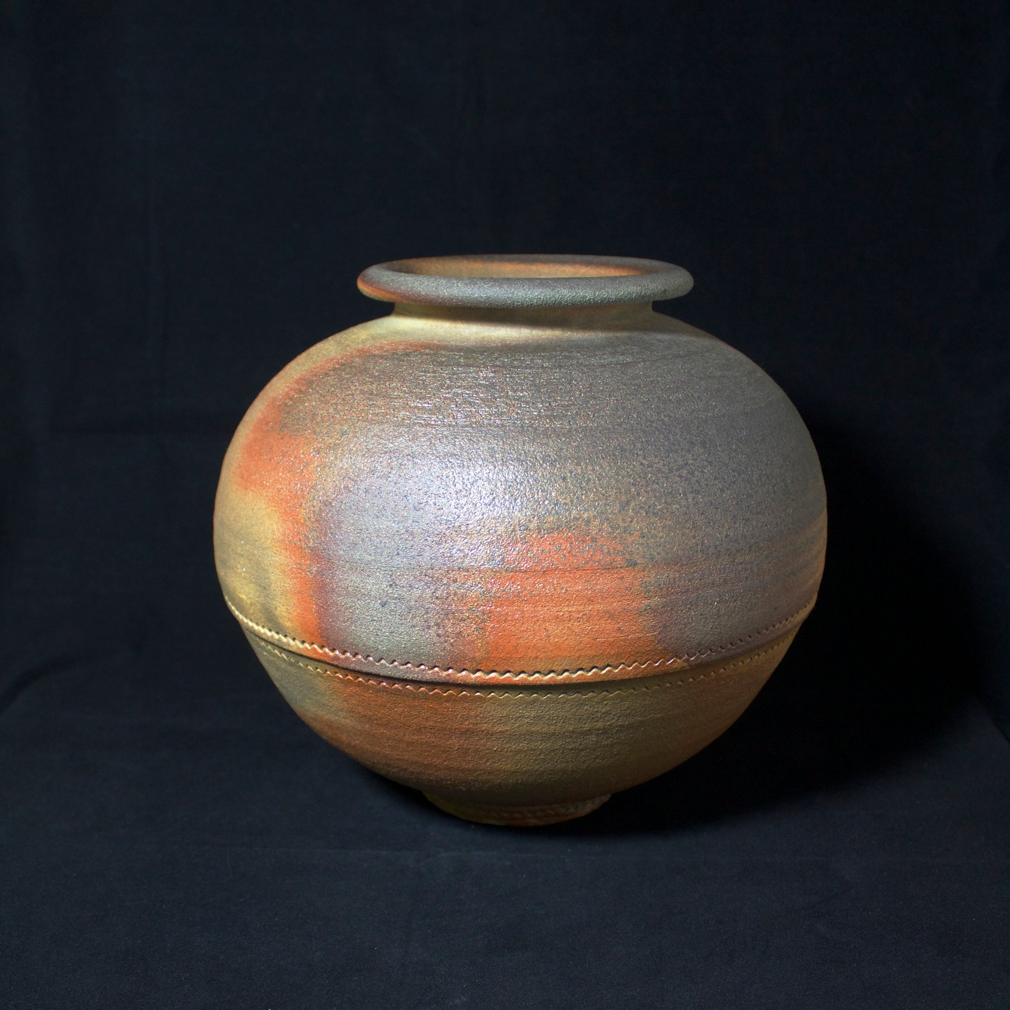 Wood Fired Round Pot