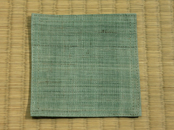 Linen Coaster       Mint Green