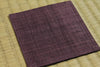 Linen Coaster             Dark Purple