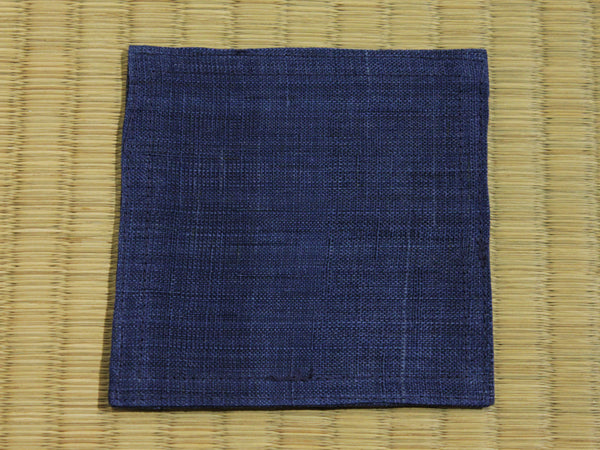Linen Coaster         Navy Blue
