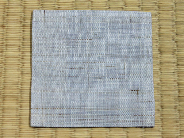 Linen Coaster          Light Blue