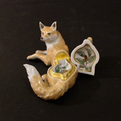 Fox and Squirrel Box by Ruri Takeuchi
