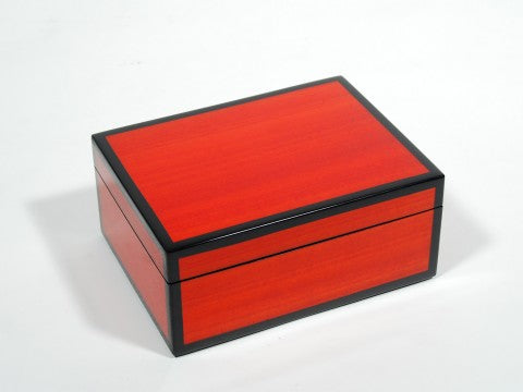 Medium Box Red Tulip Wood