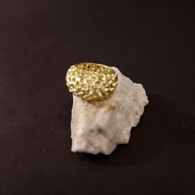 Urchin Ring #8108 Yellow Gold by Lana Kova