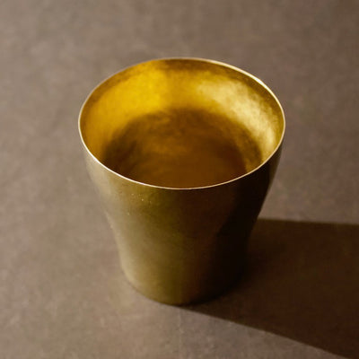 Titanium Tumbler Rei #100 Champagne Gold by Horie