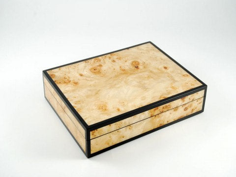 Card Box Maple Burl