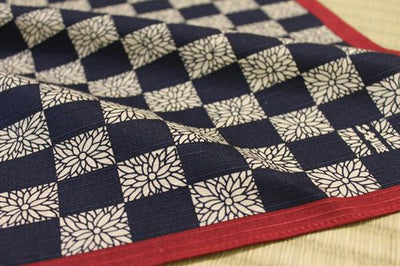 SQ Flower - Navy Blue