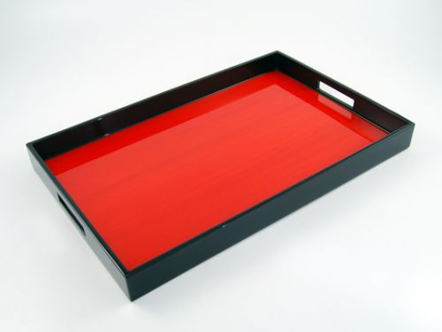 Breakfast Tray Red Tulipwood