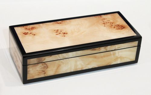Pencil Box, Maple Burl