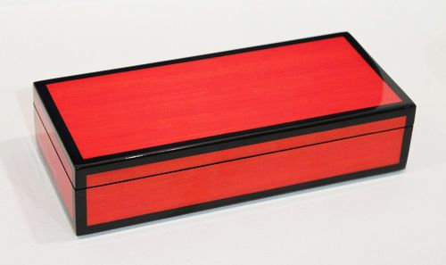 Pencil Box, Red Tulip Wood
