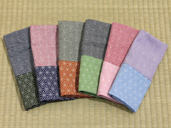 Samekomon/Hemp Assorted Color set of 6