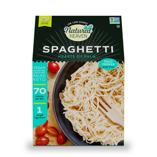 Spaghetti - Hearts of Palm Pasta - 4, 6, & 14 Pack