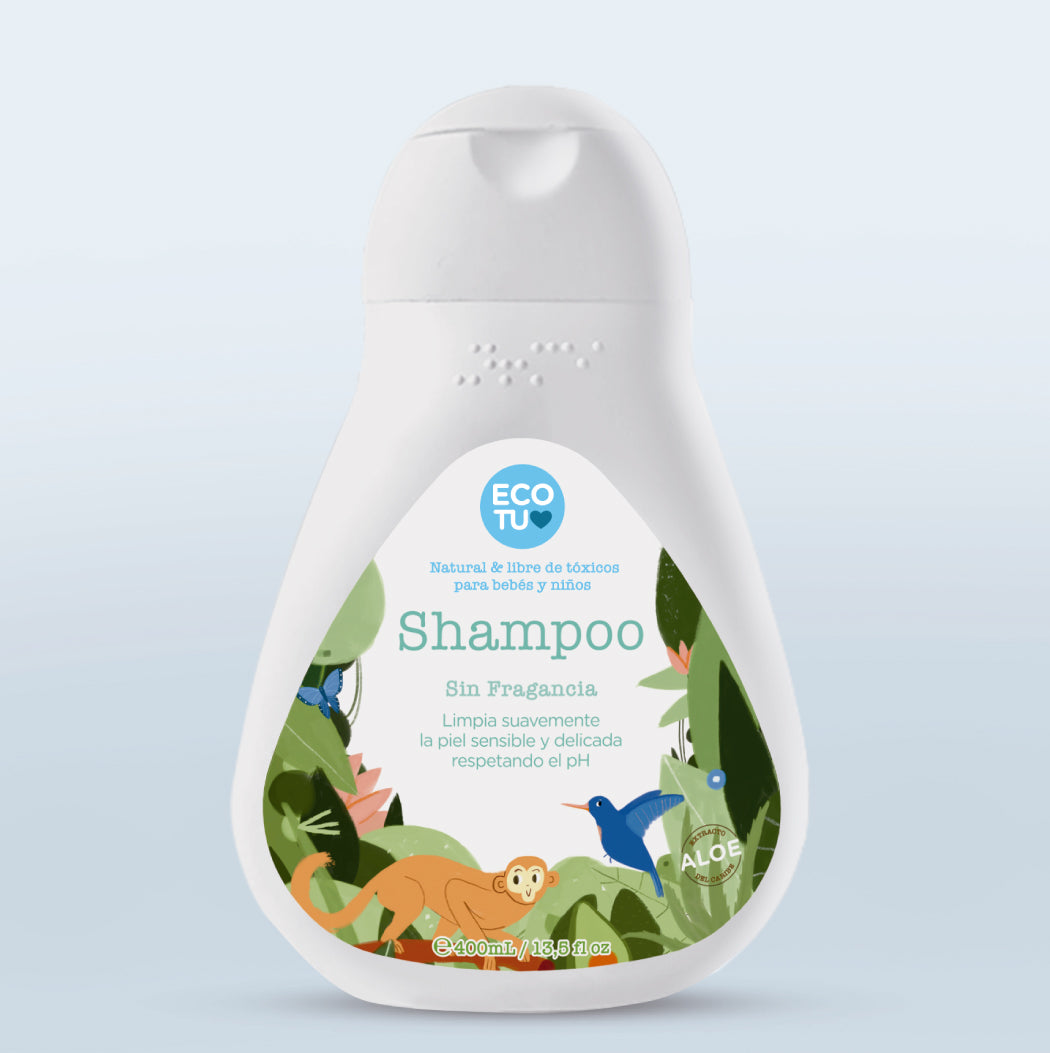 Shampoo Sin Fragancia 400ml