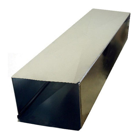 "8"" x 8"" x 60"" Rectangular Duct, Loose Cleat"
