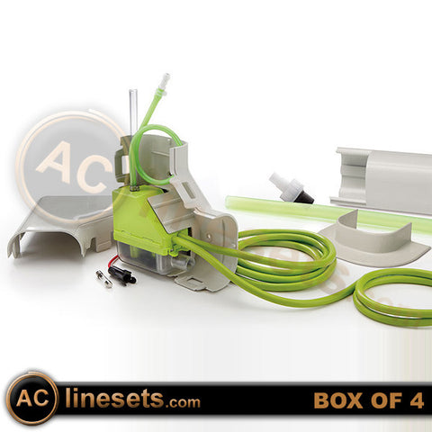 ASPMLS115 30,000 BTU Mini Lime Slimduct Condensate Pump w/ Ivory Duct 115v - Box of 4