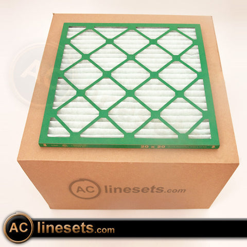 20x25x2 Brutus Merv 8 Pleated AC / Furnace Filter - 12 Pack