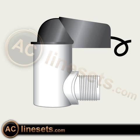 EZT224 Compact Overflow Switch With Male Thread Inlet 3/4""