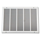 "20""X20"" Stamped Filter Grille W/Removable Face"