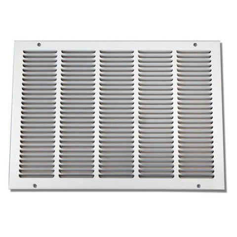 "30""X14"" Stamped Filter Grille W/Removable Face"