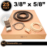 "Installation Kit For Ductless Mini Split Systems - 3/8"" x 5/8"" x 25'"