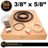 "Installation Kit For Ductless Mini Split Systems - 3/8"" x 5/8"" x 50'"