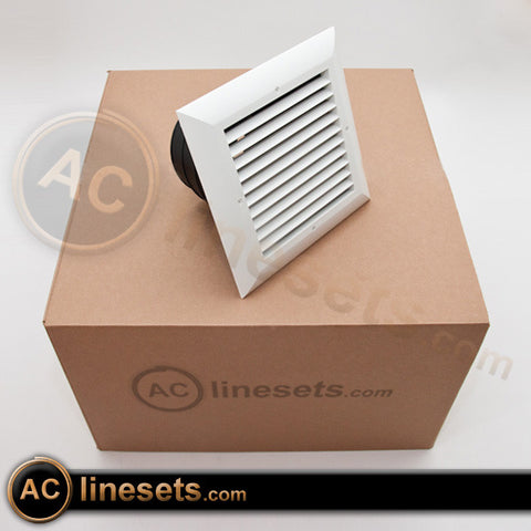 "MXE Ceiling Diffuser w/ 1 Way Exhaust Grille, Box 6, 7, 8"" - Box of 4"