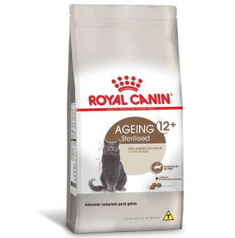 Ração Royal Canin Sterilised 12+ Gatos 400g