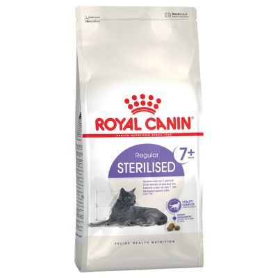 Ração Royal Canin Sterilised 7+ Gatos 7,5kg