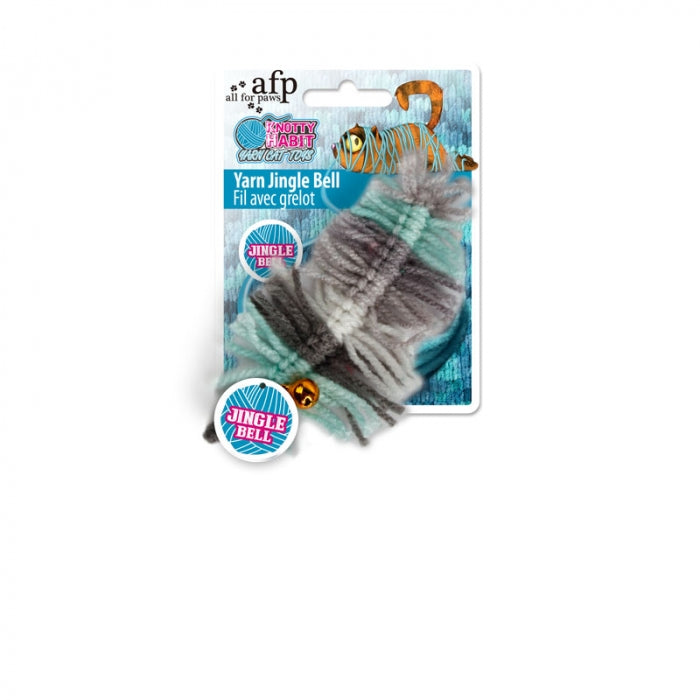 Brinquedo AFP Knotty Habit Yarn Jingle Bell