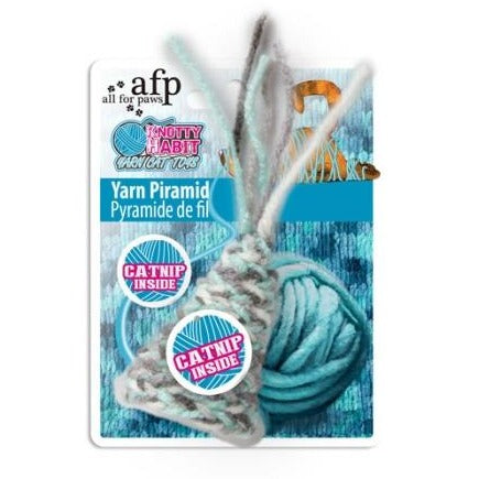 Brinquedo AFP Knotty Habit Yarn Piramid
