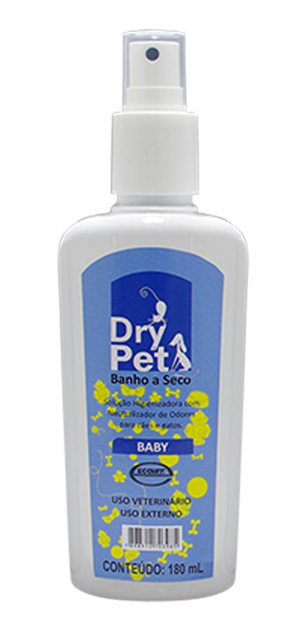 Dry Pet Banho a Seco Baby 180ml