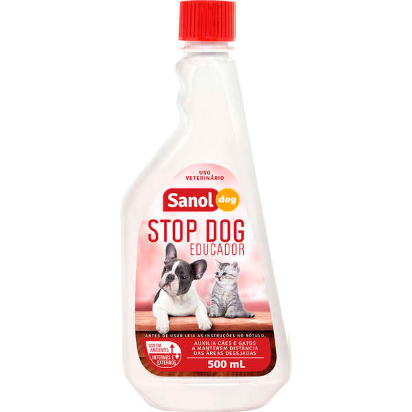 Educador Sanitário Stop Dog Sanol Dog 500ml