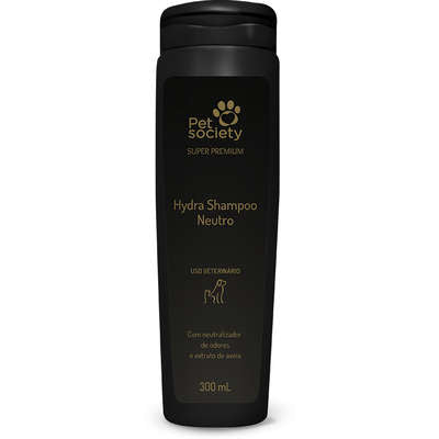 Shampoo Hydra Neutro Pet Society 300ml