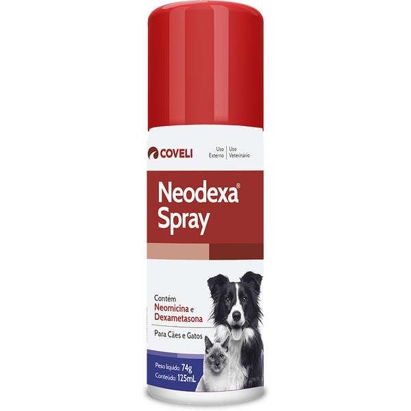 Medicamento Neodexa Spray 74g 125ml
