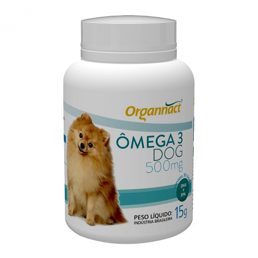 Ômega 3 Dog Organnact 500 15g