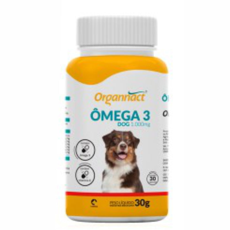 Ômega 3 Dog Organnact 1000 30g