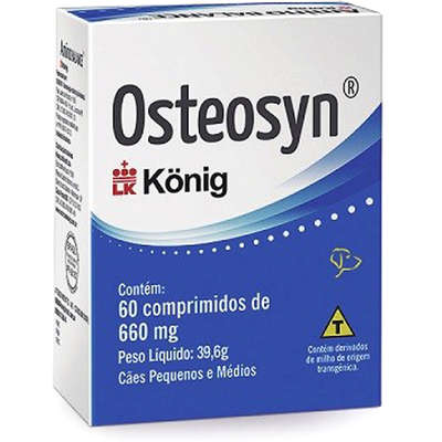 Osteosyn 660mg 60 comprimidos